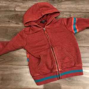 4/$20Toddler zip up sweatshirt